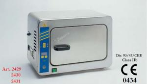 Dry sterilizer with natural air circulation
