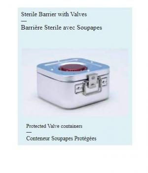 Sterile Barrier with Valves