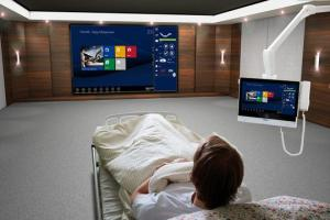 Hospital infotainment systems