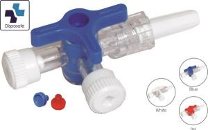Dispoflex THREE-WAY STOP COCK FOR USE DURING INFUSION AND INVASIVE BLOOD PRESSURE MONITORING