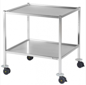 Trolley entirely in stainless steel AISI304