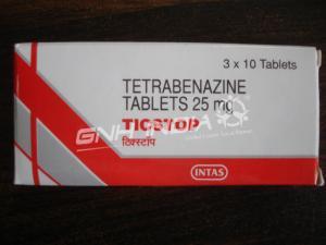 Tetrabenazine (Ticstop)