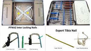 INTERLOCKING NAILS, PFNA2, EXPERT TIBIA NAIL, PELVIC & INTRAMEDULLARY NAILING, SPINE & JOINTS