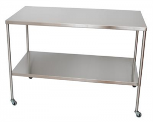 STAINLESS STEEL INSTRUMENT TABLES