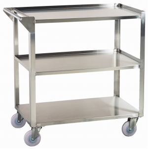 Pedigo Tables stainless steel