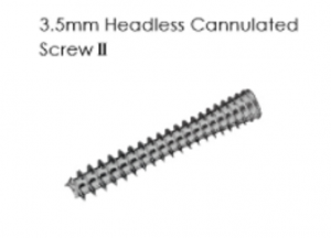 3.5mm Headless Cannulated Screw II
