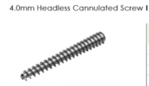 4.0mm Headless Cannulated Screw I