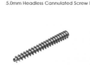 5.0mm Headless Cannulated Screw I