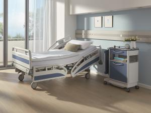 Evario hospital bed by Stiegelmeyer