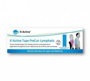 K-Active Tape PreCut: X shape, Y shape or lymphatic fan