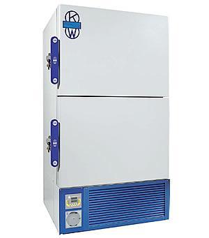Vertical double-decker freezers -40 ° C