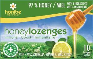 Honibe Honey Lozenges Immune Boost