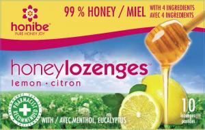 Honibe Honey Lozenges Lemon Citron