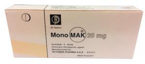 October Pharma Monomak 20mg