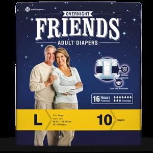 Friends Adult Diaper Overnight