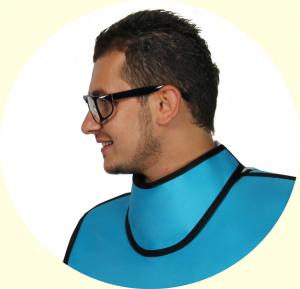 lead thyroid collar