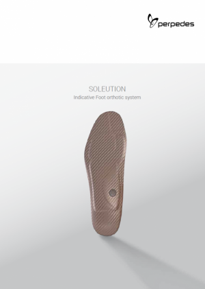 SOLEUTION_The key for successful foot orthotic therapy