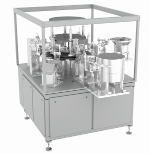 Cannula Assembly Machine