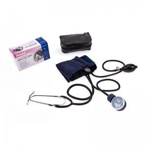 Sphygmomanometers aneroid with stethoscope