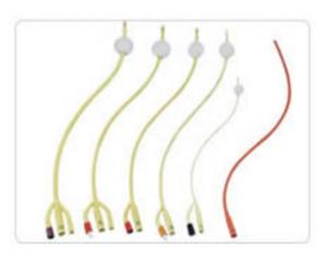 Siliconed Latex Foley Catheter