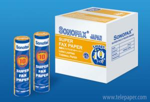 Premium Grade Thermal Fax Paper - Super 10 years