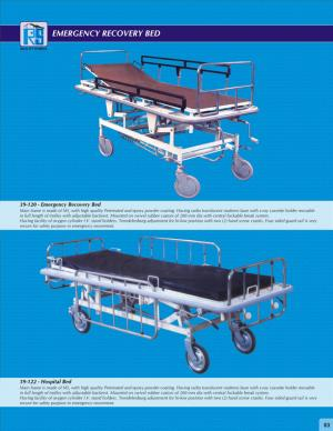 Emergency Recovery Bed
