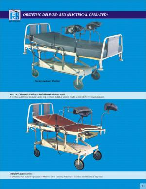 Obstetric Delivery Bed (Electrical Operated) 39-111