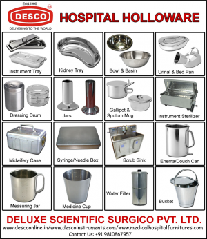 HOSPITAL HOLLOWARE