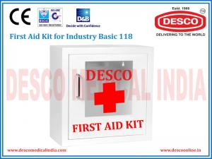 FIRST AID KIT FOR INDUSTRY BASIC 118