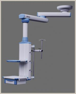 Double arm rotary surgical pendant