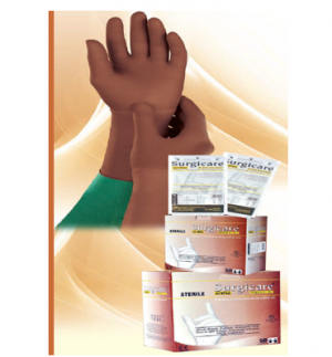 'Surgicare Ortho' Sterile Powder free Latex Surgical gloves