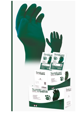 Surgicare Sensitive Powder free Sterile Surgical gloves