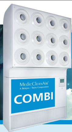 MedicCleanAir – COMBI 1.1.:  sterile and conditioned air combined.