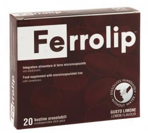 Ferrolip™ - iron supplement in mouth dispersible powder