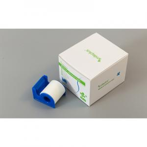Spunlaced non-woven tape with dispenser