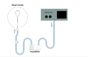 medin heated humidified high flow Nasal Canulla