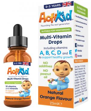 ActiKid® Multi-Vitamin Drops