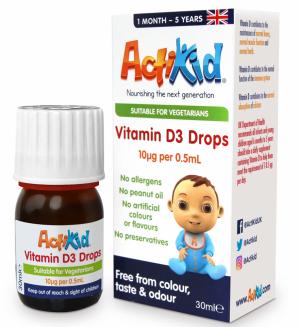 ActiKid® Vitamin D3 Drops