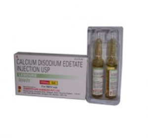 Calcium Disodium Edetate Injection 1000 MG / 5 ML [LEDCURE]