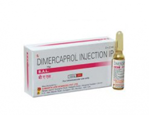 Dimercaprol Injection 100 MG / 2 ML [B.A.L]