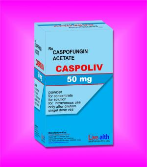 Caspofungin Acetate for injection 50mg