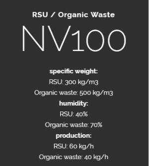 RSU / Organic Waste NV100