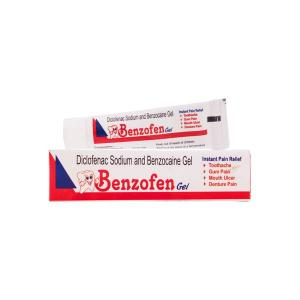 BENZOFEN ORAL GEL ( For Dental Pain gel)