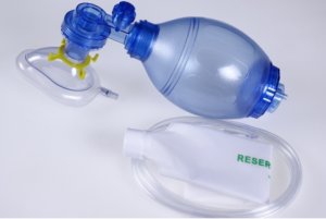 Resuscitation Bag, PVC Resuscitator, TW8321, Blue