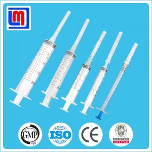 Disposable Syringe, Three-part