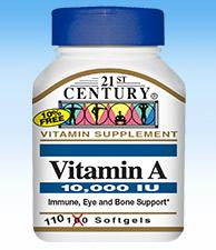 A 10,000 i.u. - 110 Softgels