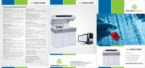 Biochemistry Analyser Fully Automated