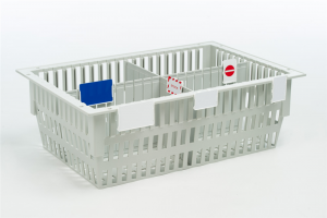 MODUL-iT ISO Modular Basket 60x40x20 cm with label holders