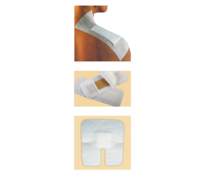Non Woven Adhesive Dressing with Pad