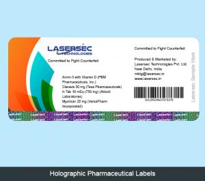 Holographic Pharmaceutical Labels